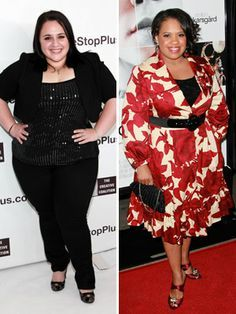 """Quiz: Find Your Body Type and Body Shape - Your Body Shape Is: An Apple Like Nikki Blonsky and Chandra Wilson, you are shaped like an apple. This shape can also be called """"round"""" or """"oval."""" You have a large bust and stomach, a curvy waist and wide hips. You also have a naturally high waistline, and you tend to gain weight in the middle of your body."""