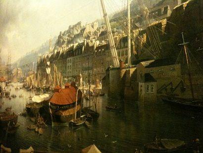 Léon antoine Morel fatio - Le port de Rouen