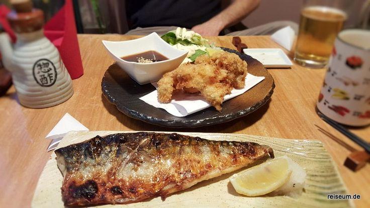 gegrillte Makrele & frittierte Austern  #essengehen #ausgehen #muenchen #japanisch #foodblog #reiseblog #deutschland