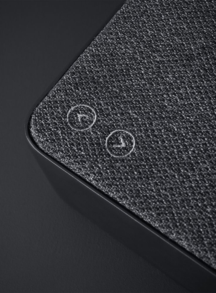 Copenhagen is a minimalist bluetooth loudspeaker created by the Danish studio design-people for the sound systems manufacturer Vifa. Simple to use and portable, the piece can work wirelessly or connect to your devices through a mini-jack or USB port. All the buttons and controls are carefully hidden to achieve the clean, uncluttered look. Here is how designers describe their approach: