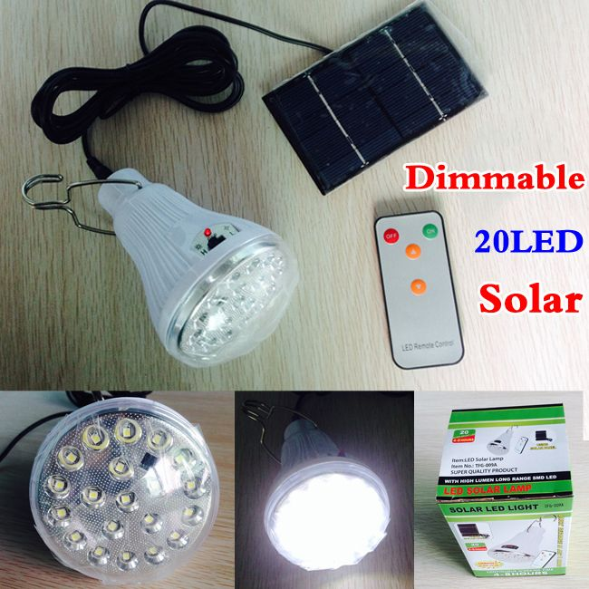 Indoor/Outdoor Dimmable DC6V 20Led 2.5W remote control solar LED Light Camping handing lamp +1W solar panel Digital Guru Shop  Check it out here---> http://digitalgurushop.com/products/indooroutdoor-dimmable-dc6v-20led-2-5w-remote-control-solar-led-light-camping-handing-lamp-1w-solar-panel/