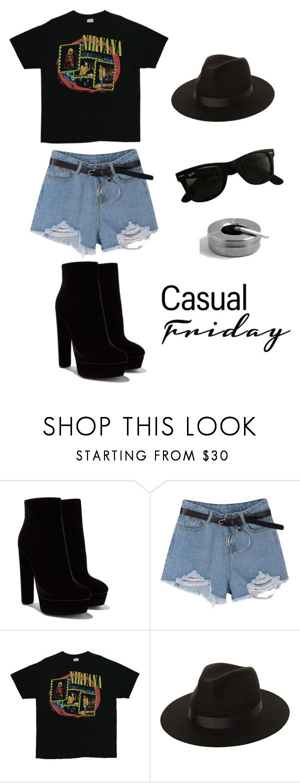 """""""♥_________♥"""" by lore-4ever-directioner on Polyvore featuring moda, Lack of Color y Ray-Ban"""