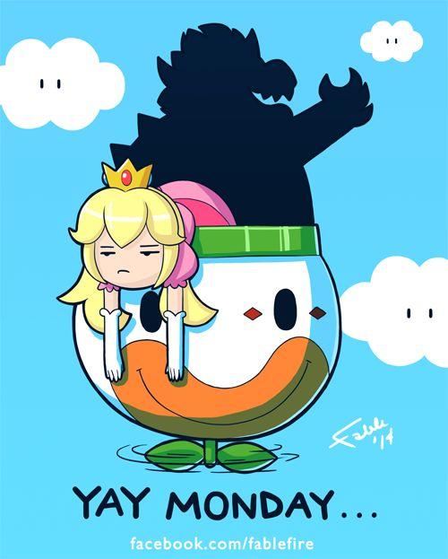 thegameisalife: Los lunes apestan Mondays suck