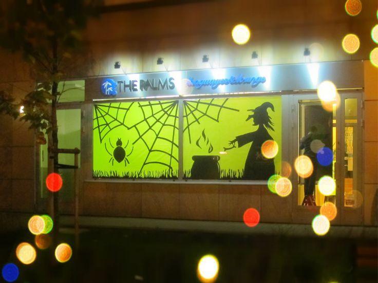 halloween window display - Bing Images