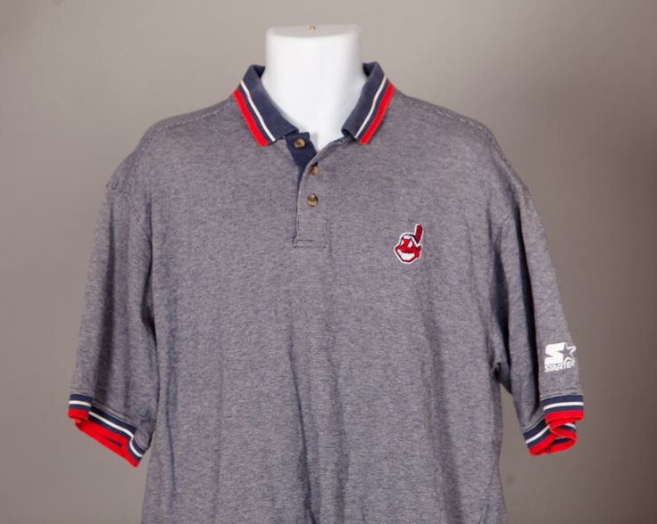 A personal favorite from my Etsy shop https://www.etsy.com/listing/521325013/vintage-90s-cleveland-indians-polo-shirt