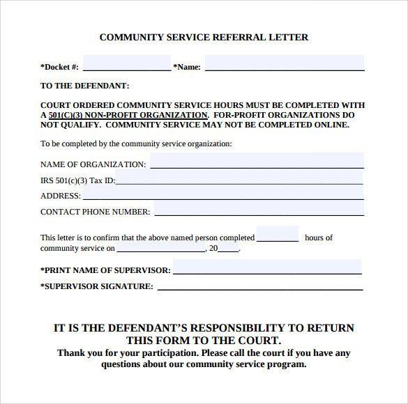 Community Service Verification Letter For Court Fresh Sample Munity Service Letter 25 Dow Community Service Hours Letter Templates Non Profit Community Service