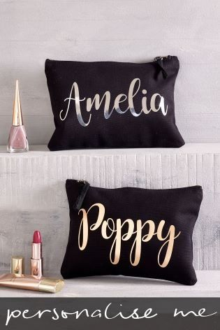 0067c02c92 Personalised Large Make Up Bag by Loveabode
