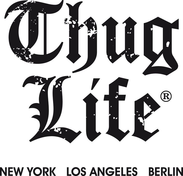 thug life png   Free Large Images   fashion   Pinterest   Life and