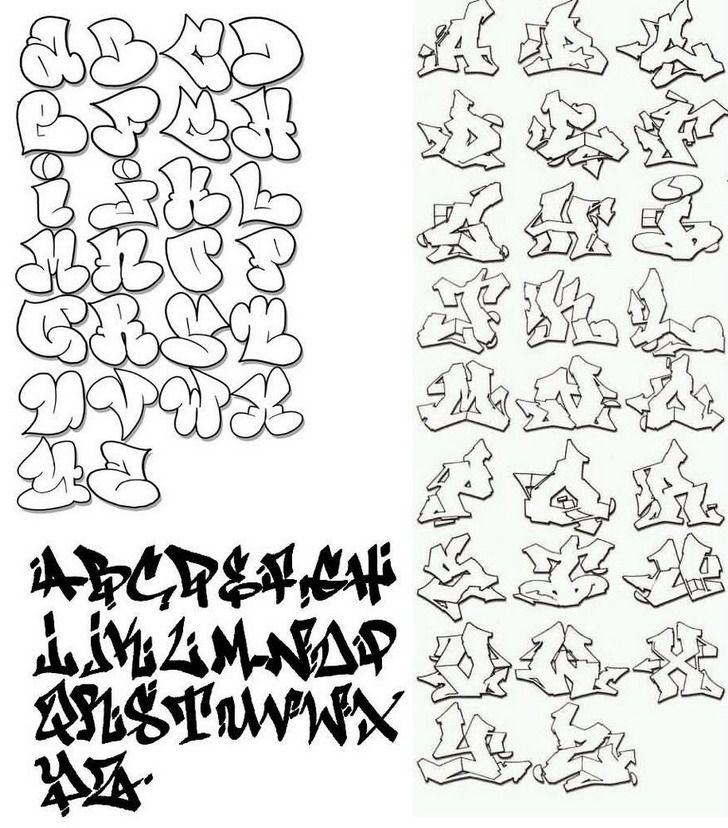 Graffiti Letters M