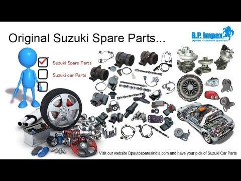 Bp Auto Spares India is a highly proficient company deeply specialized in delivering top quality, robust, and strongly-built Suzuki Spare Parts.