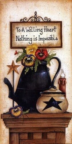 Mary Ann June - Nothing is Impossible - art prints and posters