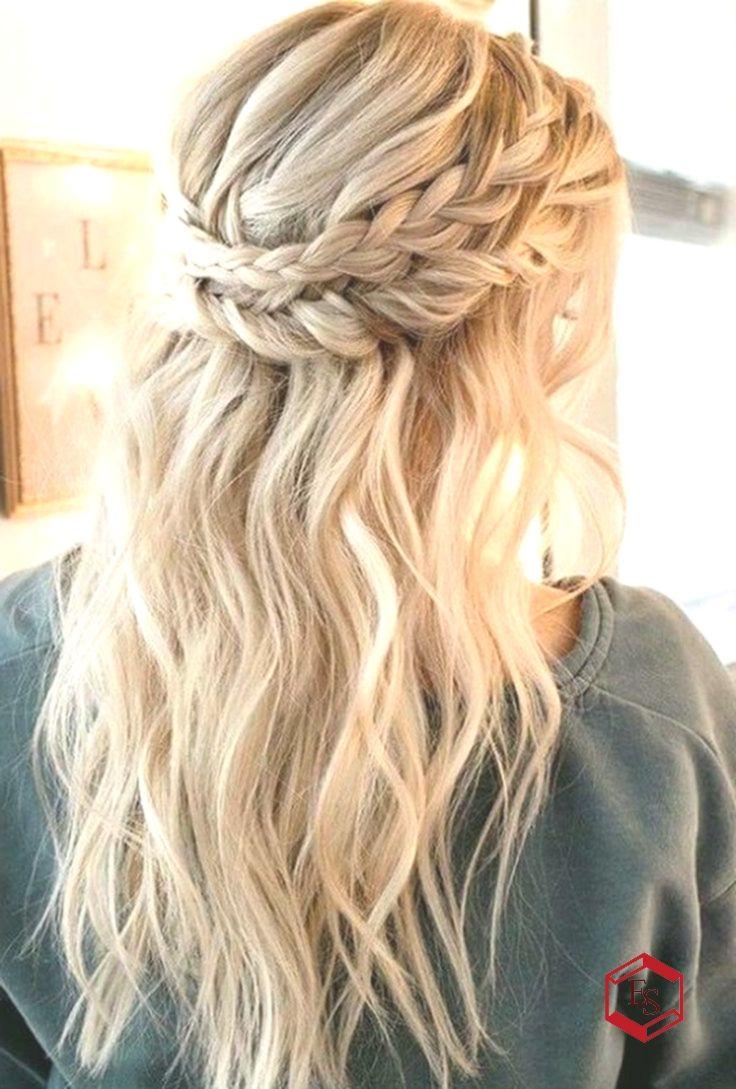 37 Lovely Hairstyles Ideas For Girl Braided Half Up Half Down Hair Medium Length Hair Styles Braided Crown Hairstyles