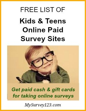 Do you know kids and teens can make extra money from home by taking online surveys? Yes their opinion are important and they can get paid for expressing it! Here is a list of legitimate and safe online survey panels that kids or teens can join to be heard and make money at the same time! http://mysurvey123.com/australian-paid-surveys-list/