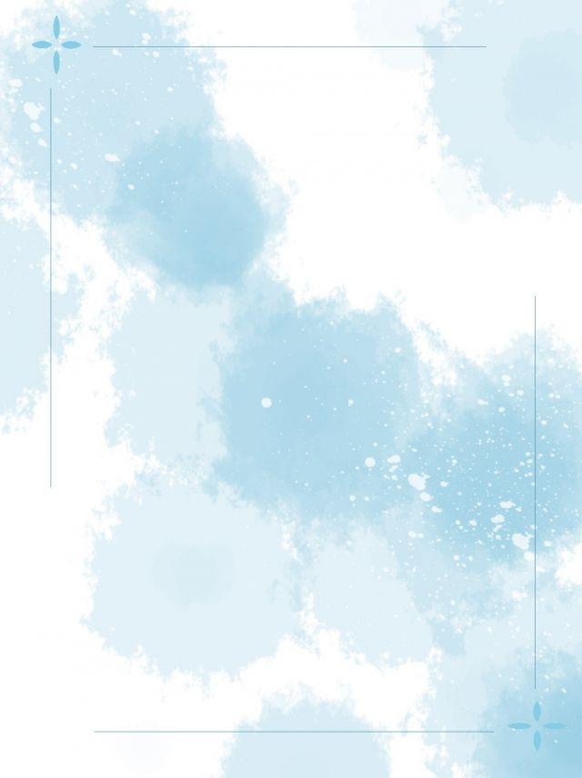 Fondo De Borde Minimalista Dibujado A Mano Completo Acuarela Azul Fondos Acuarela Fondos De Pantalla Azules Fondos De Escritorio Minimalista