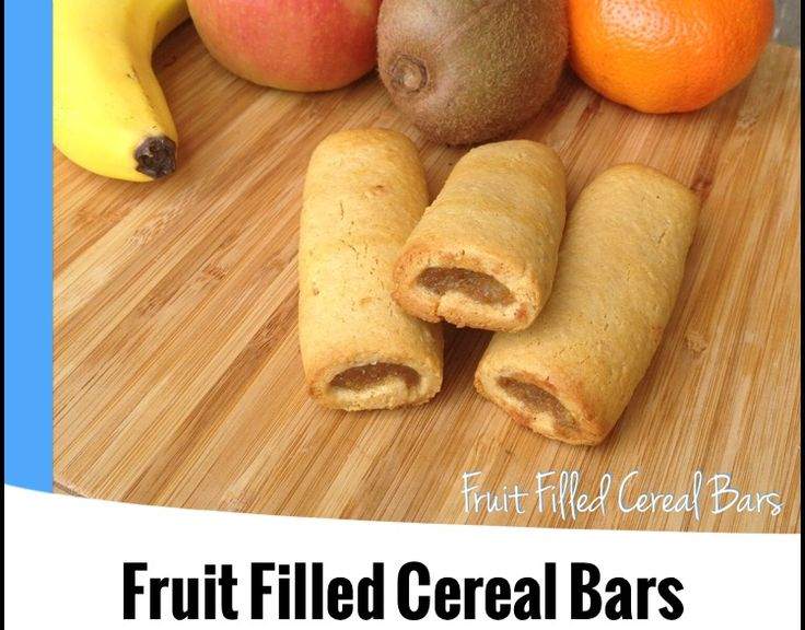 {Thermomix} Fruit Filled Cereal Bars