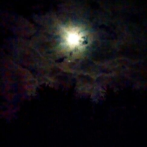 Even in the night his light shines bright