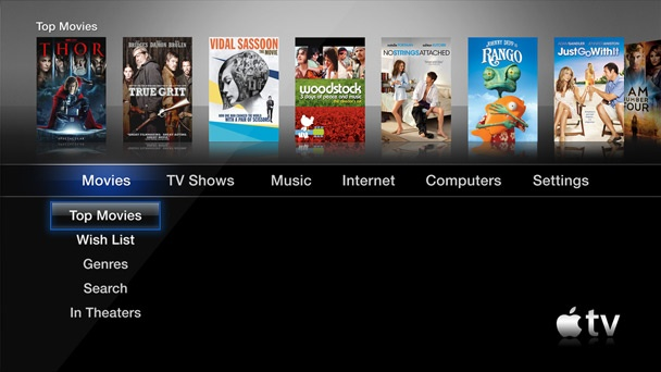 "One of many things that bugs me about Apple Tv's UI is forced default selection as you flip left and right between sections. Can't wait for the day when it's not a ""hobby"" for Apple."