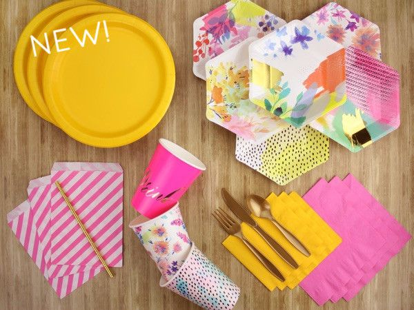 fluoro floral party kit the kit source online party supplies u0026 decorations 1