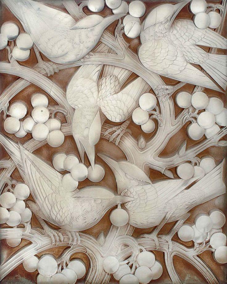 Curiosities & Design in the name of Wallpaper: indigodreams:   inland-delta: René Lalique,...