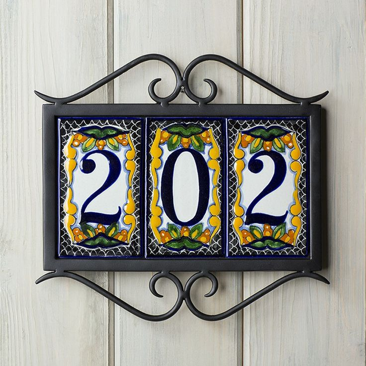 17 best ideas about house number plaques on pinterest for House number frames
