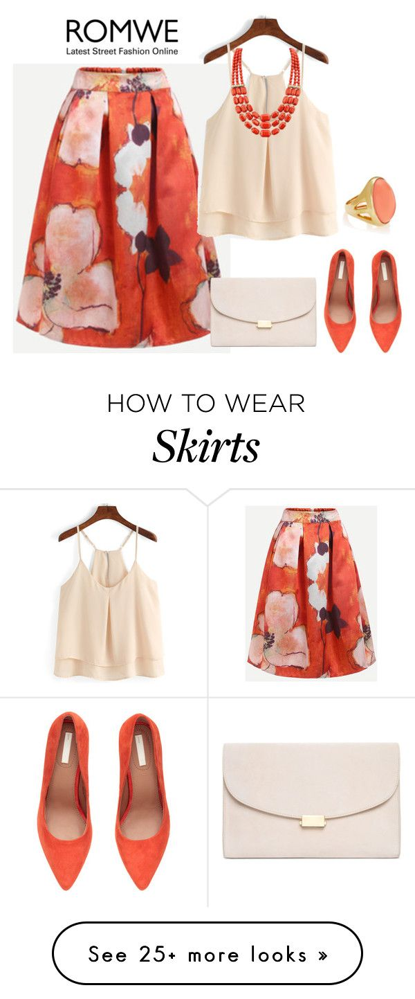 """outfit 4331"" by natalyag on Polyvore featuring Mansur Gavriel, H&M and Kenneth Jay Lane"