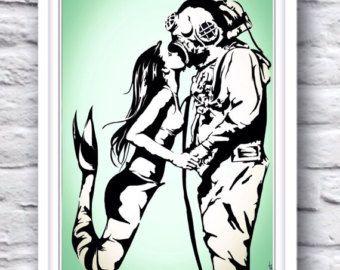 Segelschiff Anker-Plakat-Druck / / nautische Wall von Clarafornia