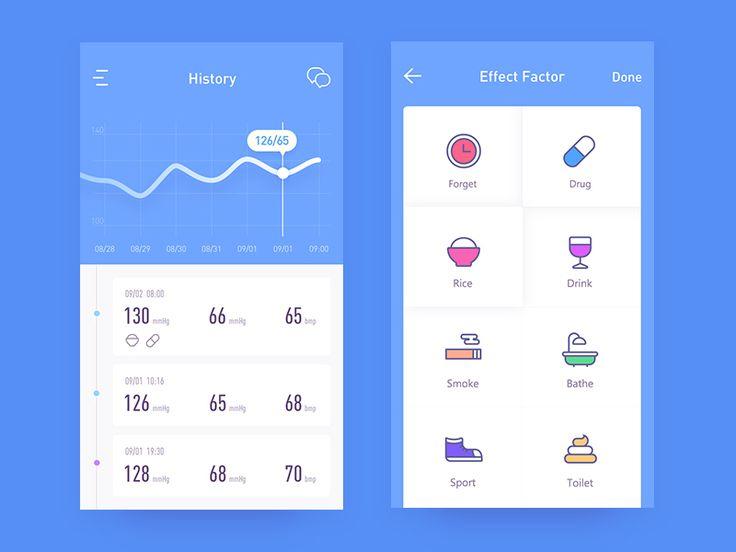 health app 02 by Rwds #Design Popular #Dribbble #shots