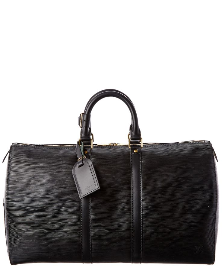 Louis Vuitton Black Epi Leather Keepall 45 is on Rue. Shop it now.