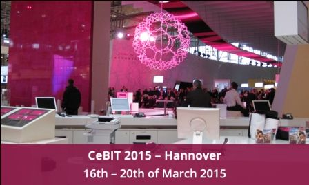 Cybrosys is in Hannover,Germany, for the largest IT expo in the world–CeBIT. Visit us in Kerala IT Pavilion