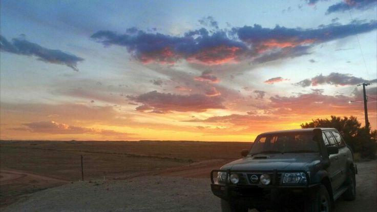 Eight Mile, Coober Pedy SA - Nissan Patrol