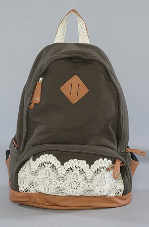 Not this style - but good idea for create your own with a regular backpack and fabric