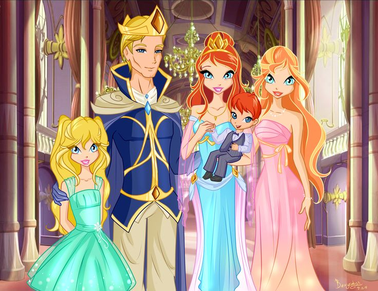 Winx Club Bloom And Sky Baby