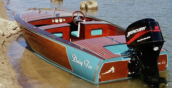 16 Malahini - classic runabout-www.boatdesigns.com | Boat Plans for Outboard Power | Pinterest ...