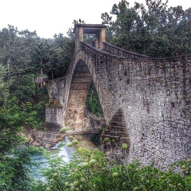 Ponte Olina, Appennino Modenese - Instagram by monyfly