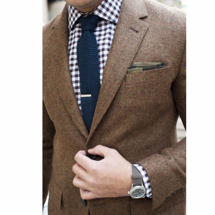 Mens Tweed Jacket Custom Made Brown Tweed Coat,Bespoke Tweed Mens Coat Herringbone Coats, Blazer Masculino, Herringbone Coat Men