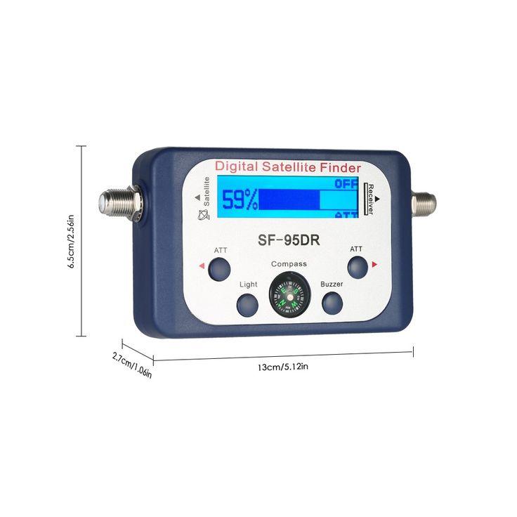 Digital Satellite Finder Satellite Signal Meter Mini Digital Sales Online - Tomtop.com