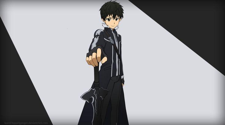 Sword Art Online Kazuto Kirigaya Kirito (Sword Art Online ...