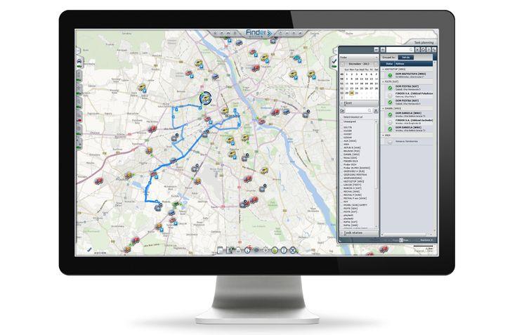 Planowanie tras i optymalizacja pracy kierowców – dowiedz się więcej o Finder Online. https://goo.gl/C7VPK9