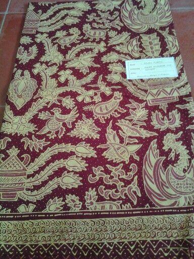 Batik tulis Jolan Tuban - $70