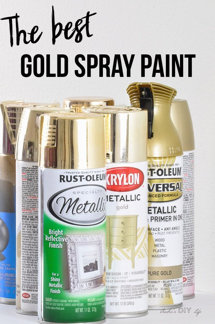 looking for the best gold spray paint crafts pinterest diy rh pinterest com  best spray can paint for a car