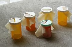Make your own pill bottle turkey call
