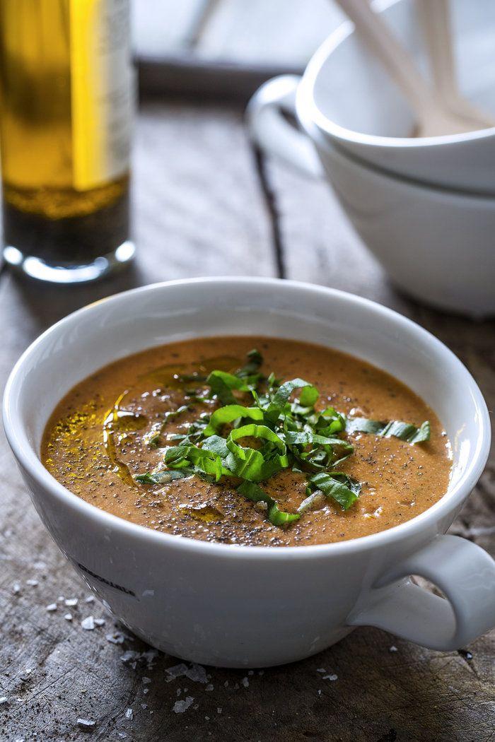 Ovnsbakt tomatsuppe (Hellstrøm)