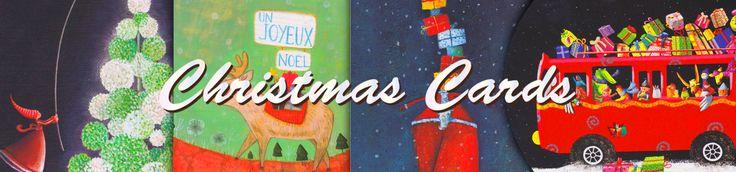 Lavender Home Christmas Card Banner design