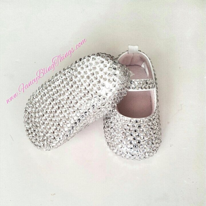 Diamond Cinderella Bling Baby Shoes by Fancyblingthings on Etsy https://www.etsy.com/listing/184956695/diamond-cinderella-bling-baby-shoes