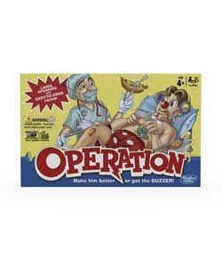 Operation Board Game from Hasbro Gaming.
