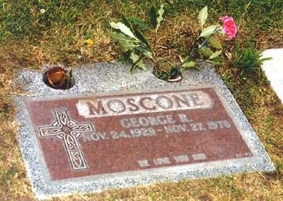 Former S.F. Mayor George Moscone (Holy Cross Cemetery in Colma,CA)