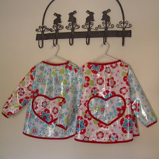Adorable kids art smock