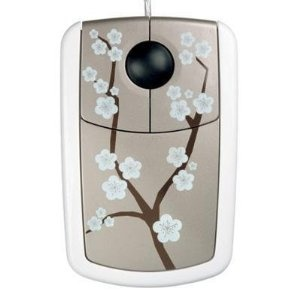 Platinum Cherry Blossom Optical Mouse - Style Series  $11.99 from http://www.amazon.com/gp/product/B002833G12?ie=UTF8=B002833G12=xm2=learncente0b-20#    I spend so much time on the 'puter that I want some pretty things around me.....
