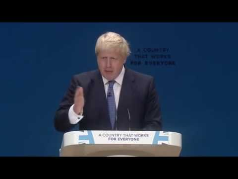 Boris Johnson Speech At Conservative Party Conference 2016 – Straight Talking Tory
