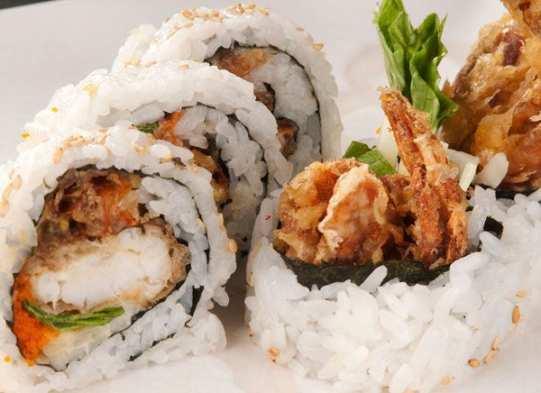 spider roll sushi - Google Search